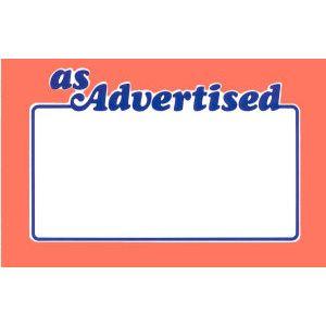 Red As Advertised - 7104005