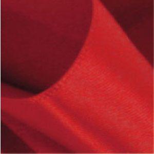 Red, Single Faced Satin Ribbon