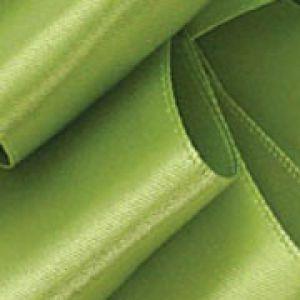 Lemon Grass, Single Faced Satin Ribbon