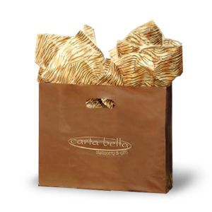 Espresso, Medium Frosted SOS Gift Bags