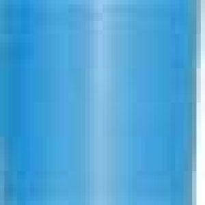 """3/4"""" Carribean Blue, Star Bows"""