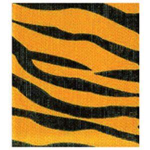 Tiger, Jungle Print Polyester Ribbon