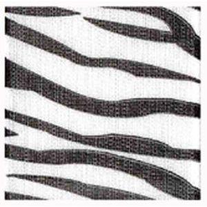 Zebra, Jungle Print Polyester Ribbon
