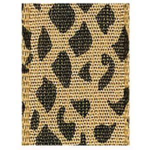 Snake, Jungle Print Polyester Ribbon