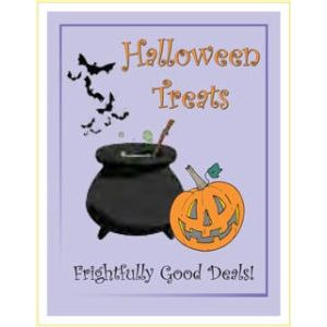"Window Poster, ""Halloween Treats"", 28"" x 36"""