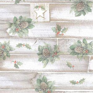 Christmas Western Gift Wrap, Hollywood