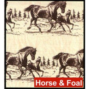 Horse & Foal, Western Printed Tissue Paper