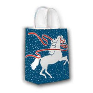 Enchanted Horse, Large Western Christmas Bags