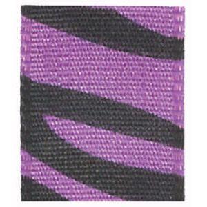 "5/8"" Purple, Jungle Print Polyester Ribbon"