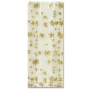 Gold Stars, Printed Polypropylene bags