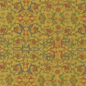 Floral & Tapestries Gift Wrap, Full Bloom, Filigree, Kraft