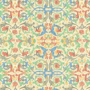 Floral & Tapestries Gift Wrap, Florentine, Filigree, Kraft