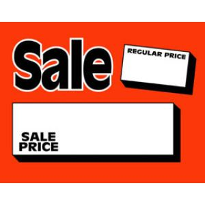 Red RegPrice/Sale Price - 72540136