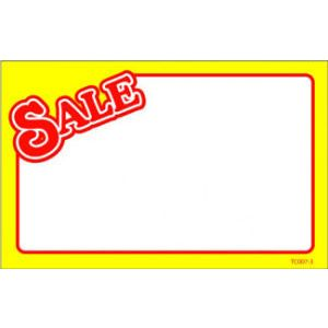 Red Sale w/Yellow Border - 72040712