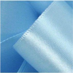 Light Blue, Single Faced Satin Ribbon