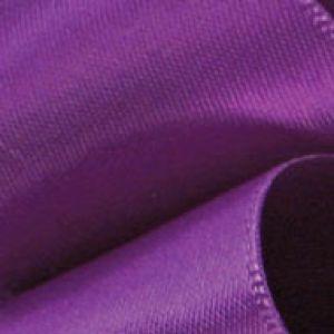 Purple, Single Faced Satin Ribbon