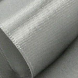 Silver, Single Faced Satin Ribbon