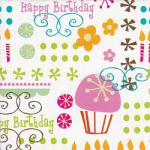 Celebration Gift Wrap, Contemporary Birthday