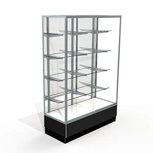 4' Mirror Back, Upright Displays