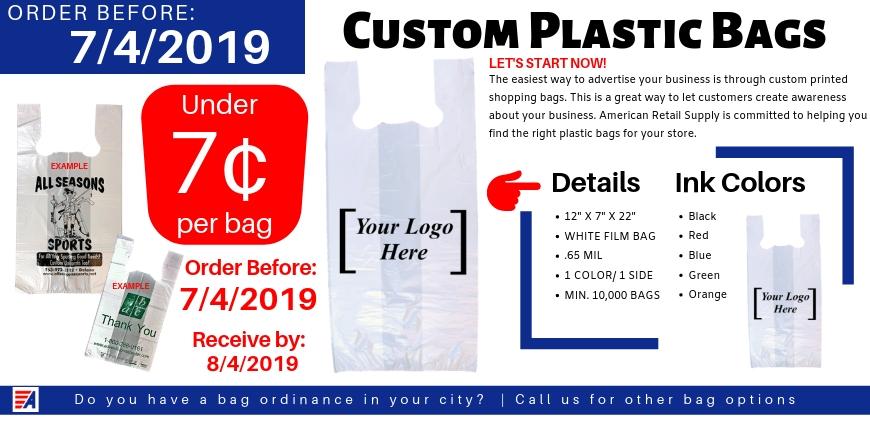 Plastic Bag Promo 2019