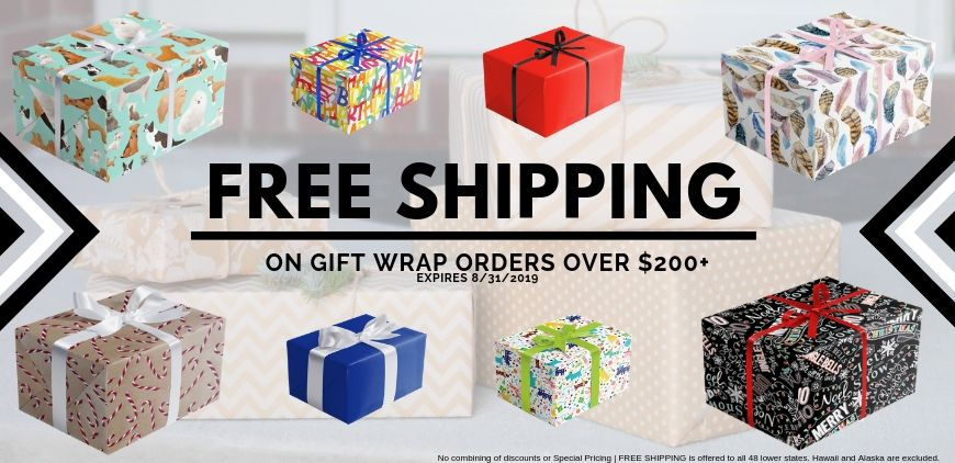 Free Shipping Giftwrap