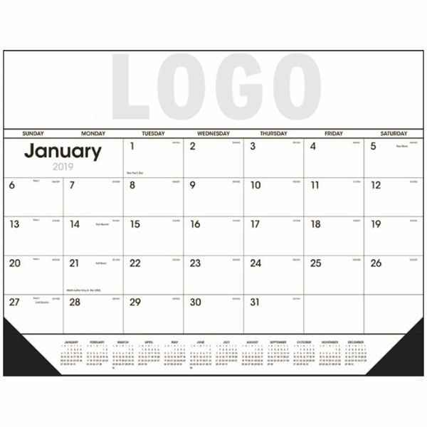 Monthly Flat Desk Calender